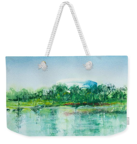 Long Beach Convention Center Arena Weekender Tote Bag