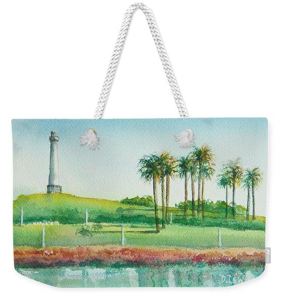 Long Beach Lighthouse Weekender Tote Bag