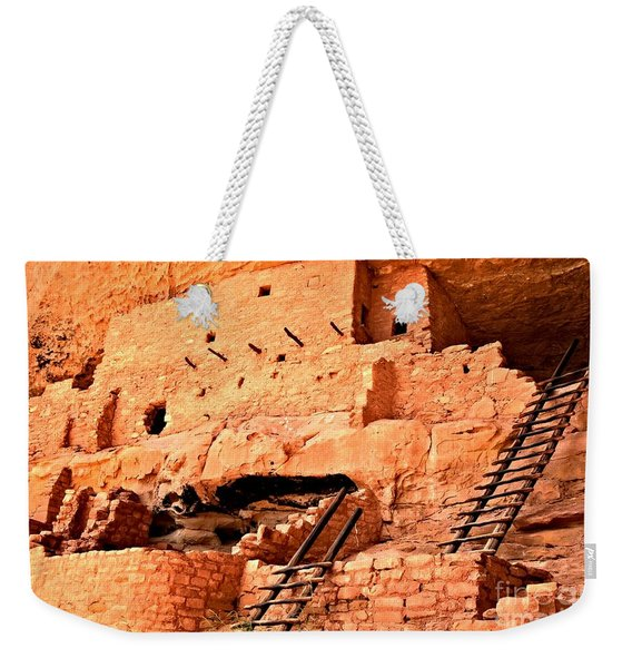 Long House Ladders Weekender Tote Bag