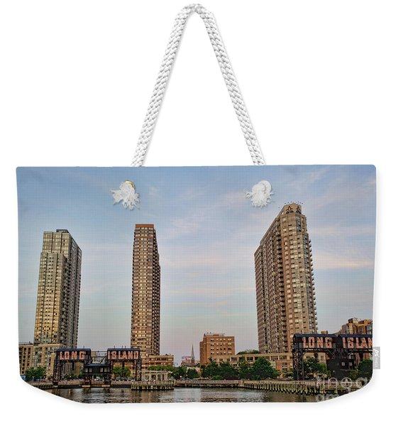 Long Island Weekender Tote Bag