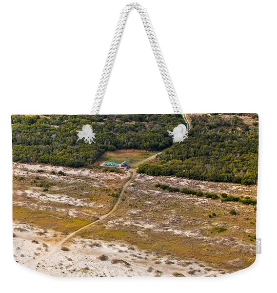 Long Road To The Coast Near Jekyll Island Weekender Tote Bag