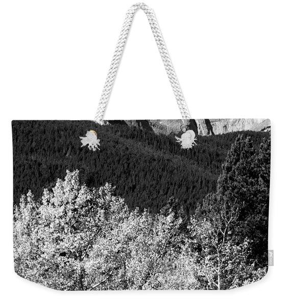 Longs Peak 14256 Ft Weekender Tote Bag