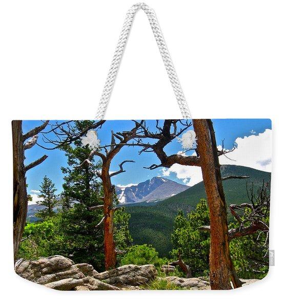 Longs Peak Weekender Tote Bag