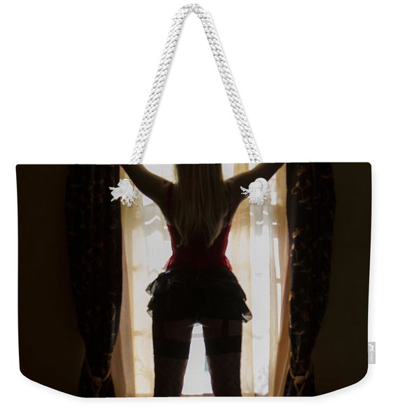 Look Through My Window Weekender Tote Bag