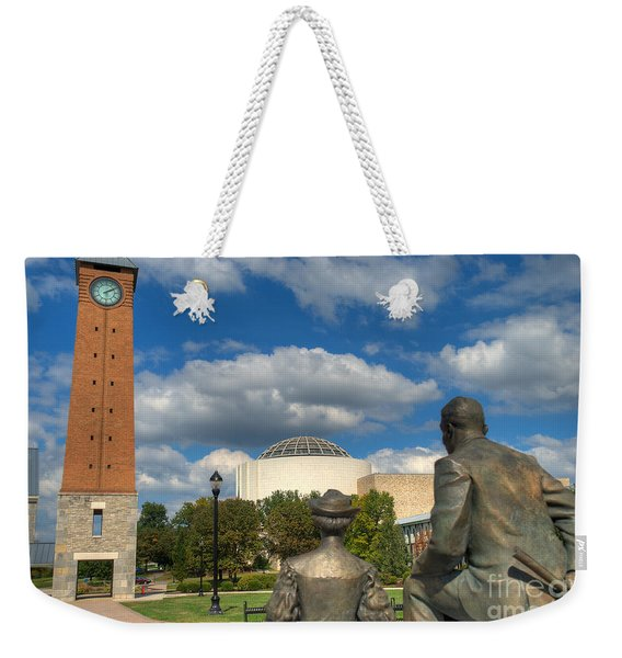 Look What They Built For Us Kitty Weekender Tote Bag