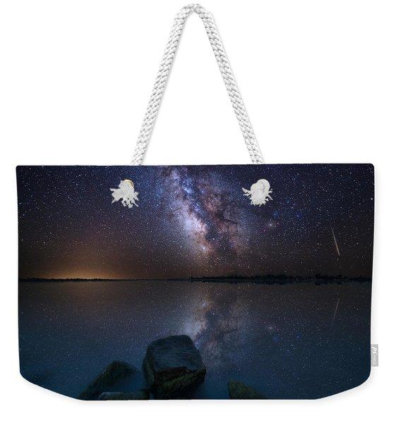 Looking At The Stars Weekender Tote Bag