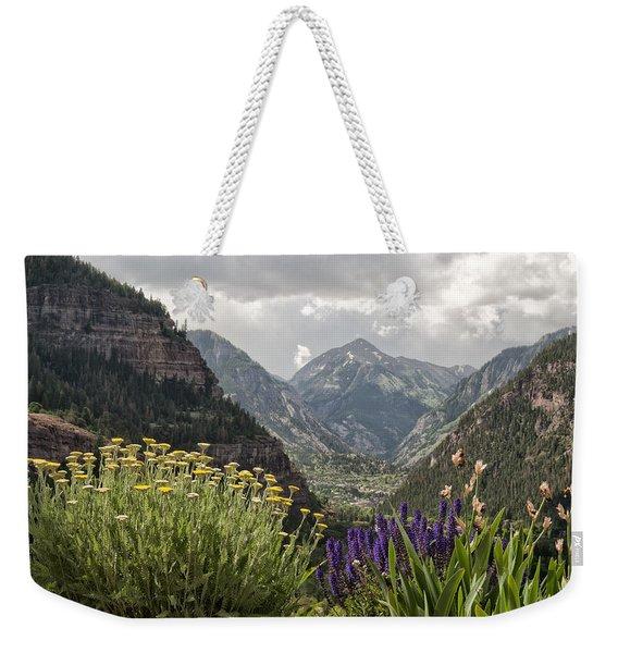 Looking Down On Ouray Colorado Weekender Tote Bag