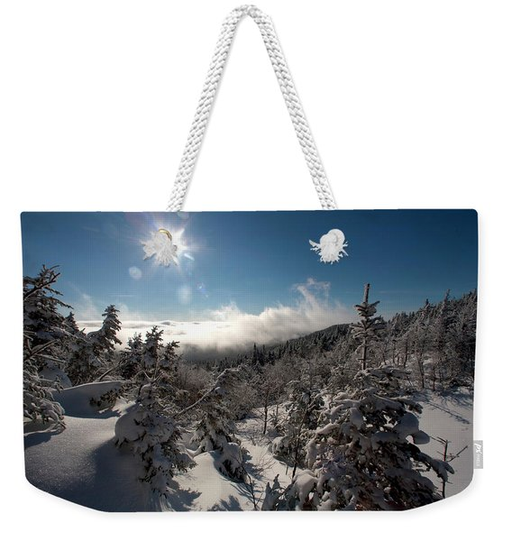 Looking East Into The State Of Maine Weekender Tote Bag
