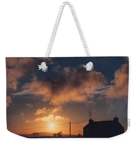 Looking Forward To Being Home... At Weekender Tote Bag