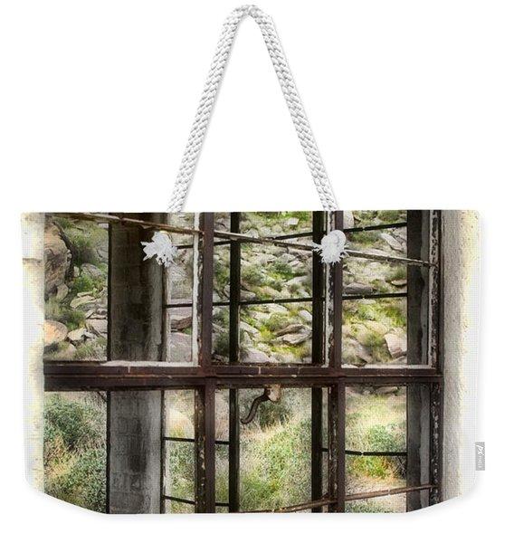 Looking Through The Window By Diana Sainz Weekender Tote Bag