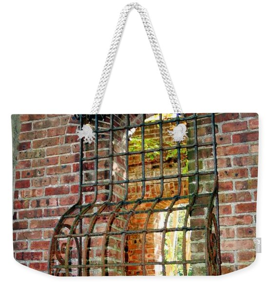 Looking Through Time Weekender Tote Bag