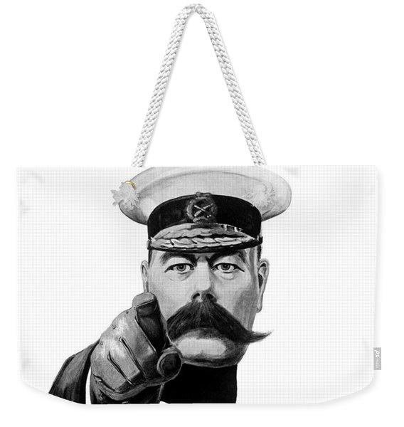 Lord Kitchener - Britons Your Country Needs You Weekender Tote Bag