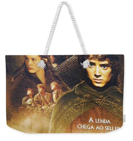 Lord Of The Rings Weekender Tote Bag