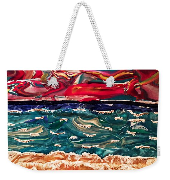 Lori's Paradise Weekender Tote Bag