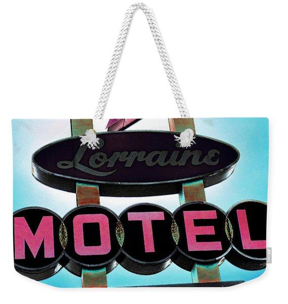 Lorraine Motel Weekender Tote Bag