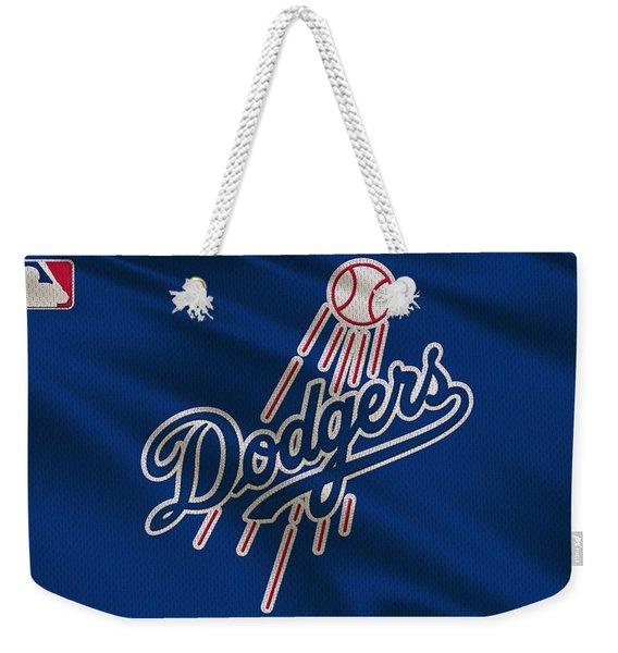 Los Angeles Dodgers Uniform Weekender Tote Bag