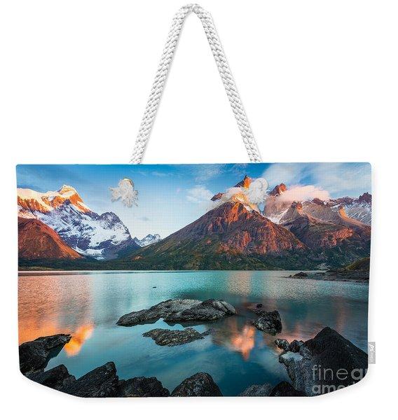 Los Cuernos Dawn Weekender Tote Bag