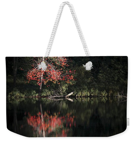 Lost In The Autumn Of Eternity Weekender Tote Bag