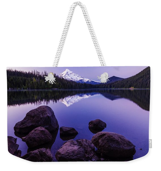 Lost Lake Serenity Weekender Tote Bag