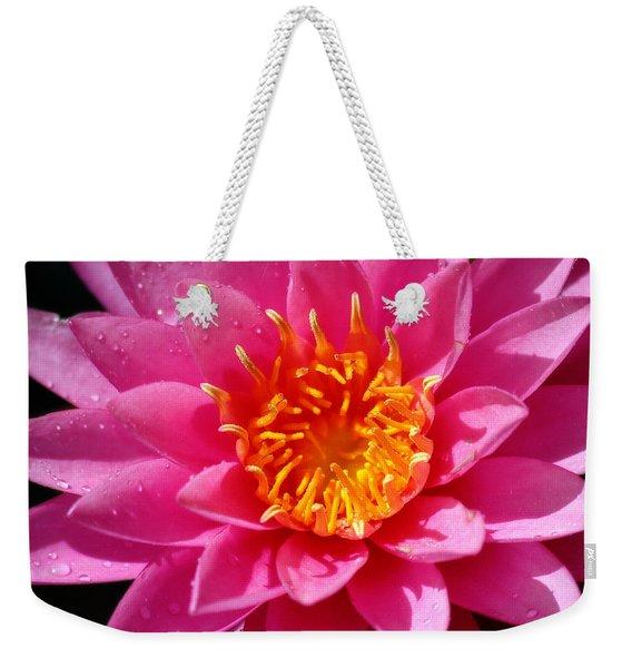 Lotus Weekender Tote Bag