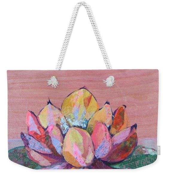 Lotus I Weekender Tote Bag