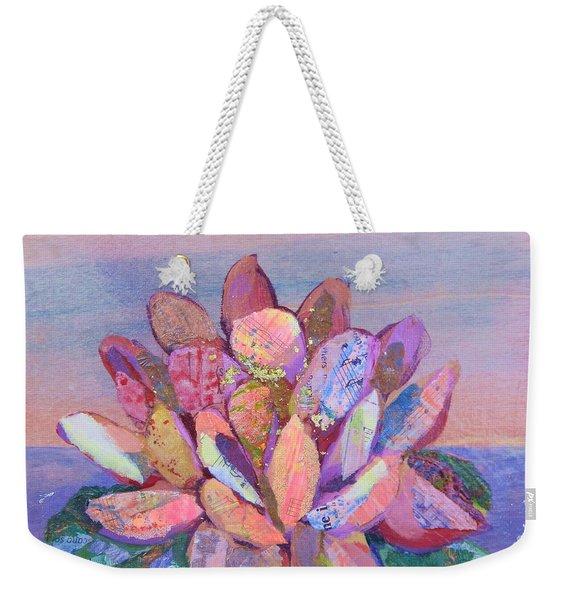 Lotus II Weekender Tote Bag