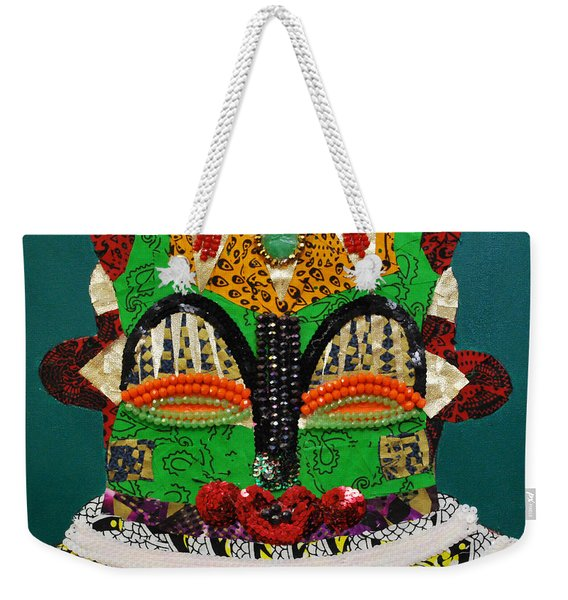 Lotus Warrior Weekender Tote Bag