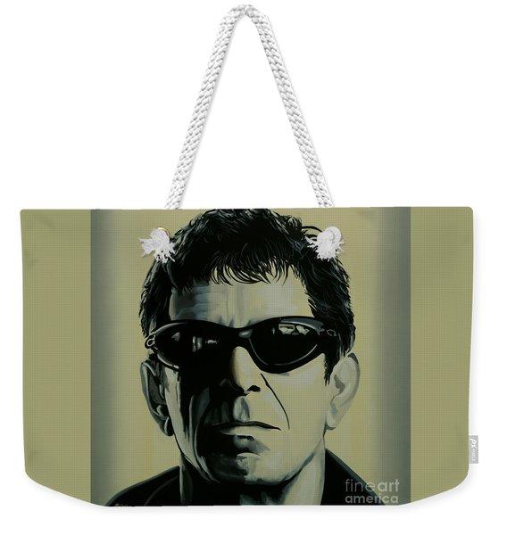Lou Reed Painting Weekender Tote Bag