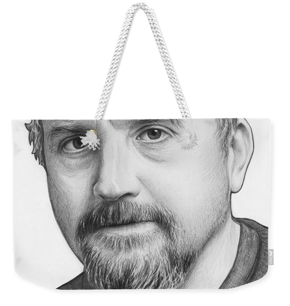 Louis Ck Portrait Weekender Tote Bag