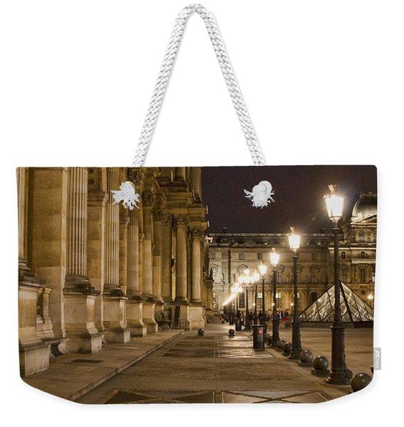 Louvre Courtyard Weekender Tote Bag