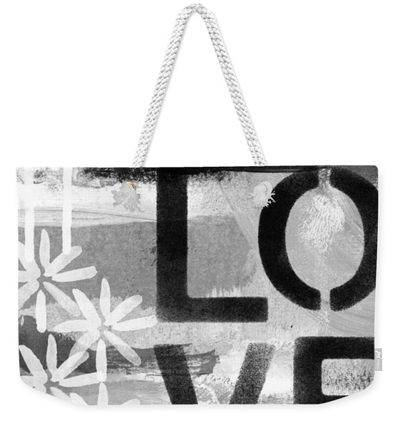 Love- Abstract Painting Weekender Tote Bag