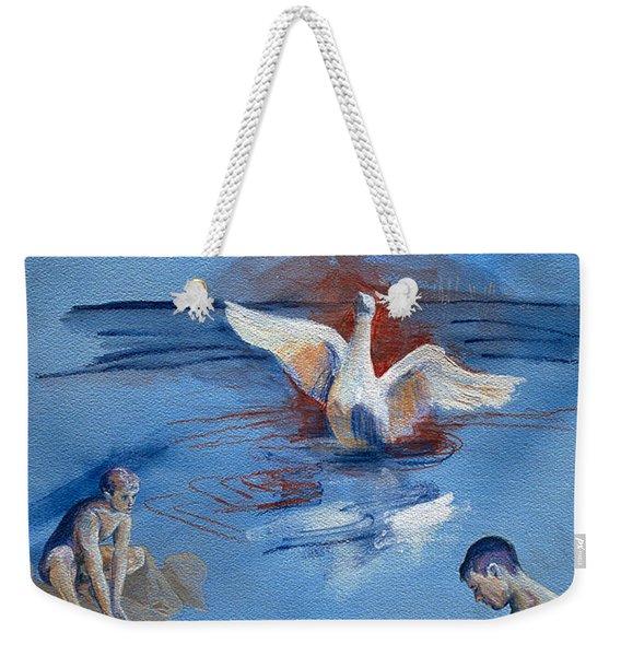 Love And Danger Weekender Tote Bag
