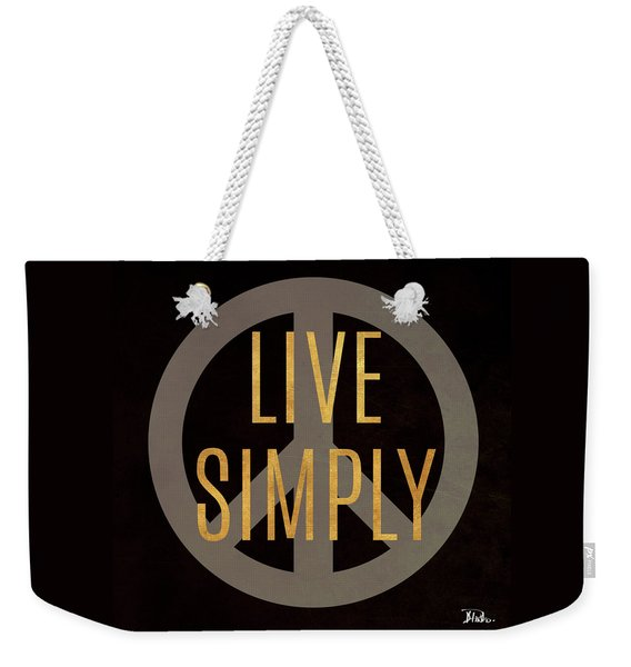 Love And Live II Weekender Tote Bag