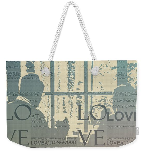Love At Longwood Weekender Tote Bag