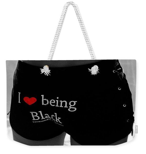 Love Being Black Weekender Tote Bag