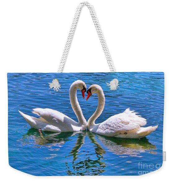 Love For Lauren On Lake Eola By Diana Sainz Weekender Tote Bag