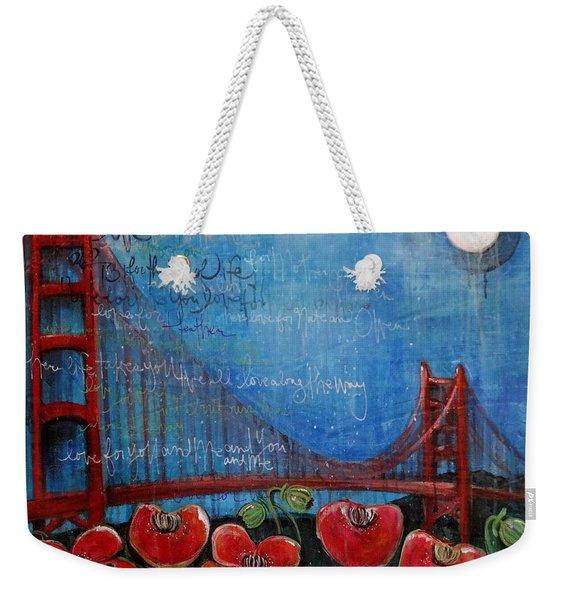 Love For San Francisco Weekender Tote Bag