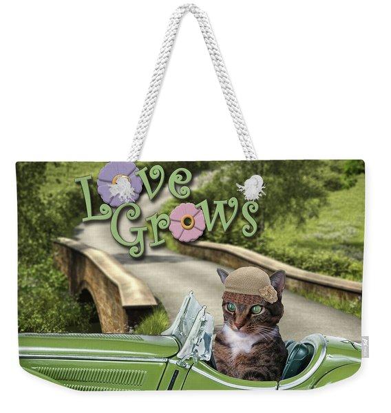 Love Grows Weekender Tote Bag