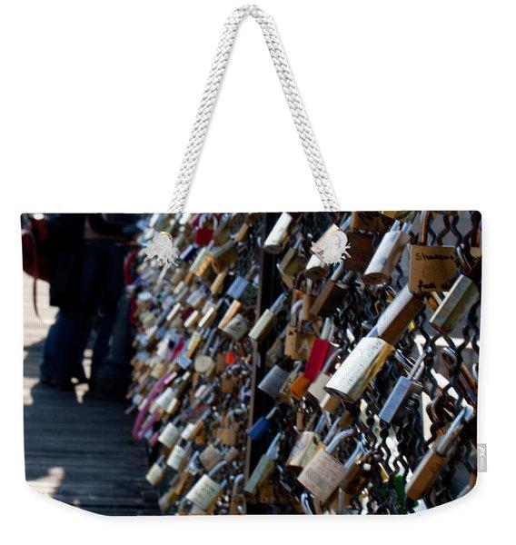 Love Locks Weekender Tote Bag