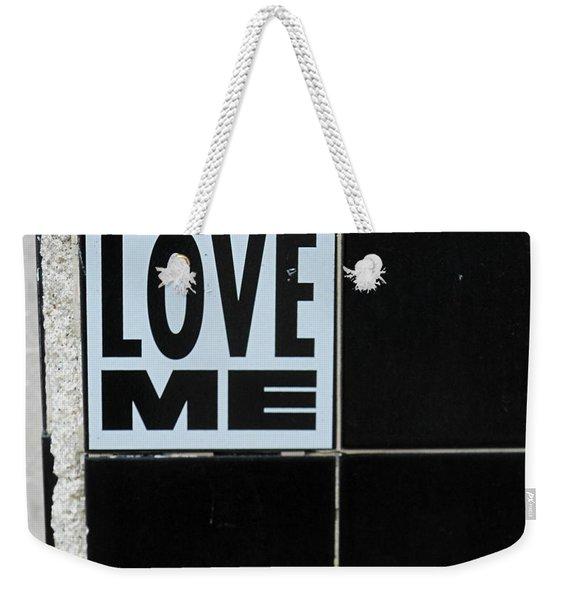Love Me Weekender Tote Bag