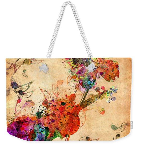 Love Music  Weekender Tote Bag