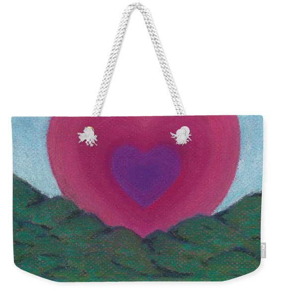 Love Rising Weekender Tote Bag