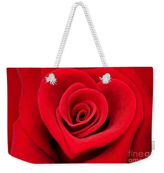 Love Rose Weekender Tote Bag