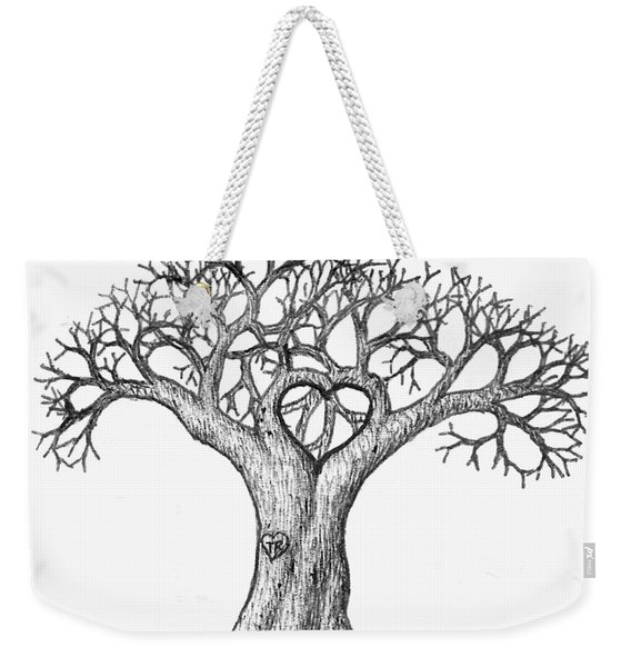 Love Tree Weekender Tote Bag