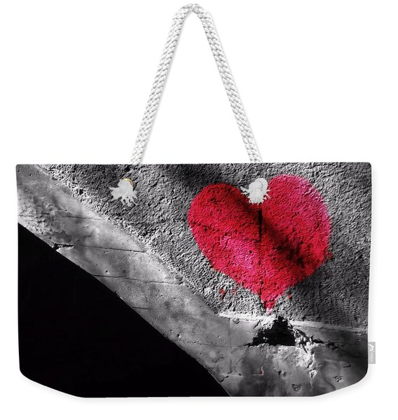 Love Under The Bridge Weekender Tote Bag