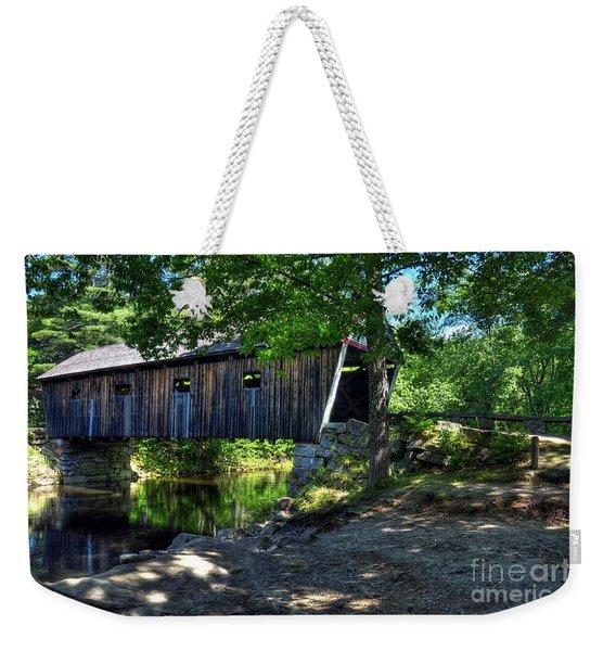 Lovejoy Covered Bridge Weekender Tote Bag