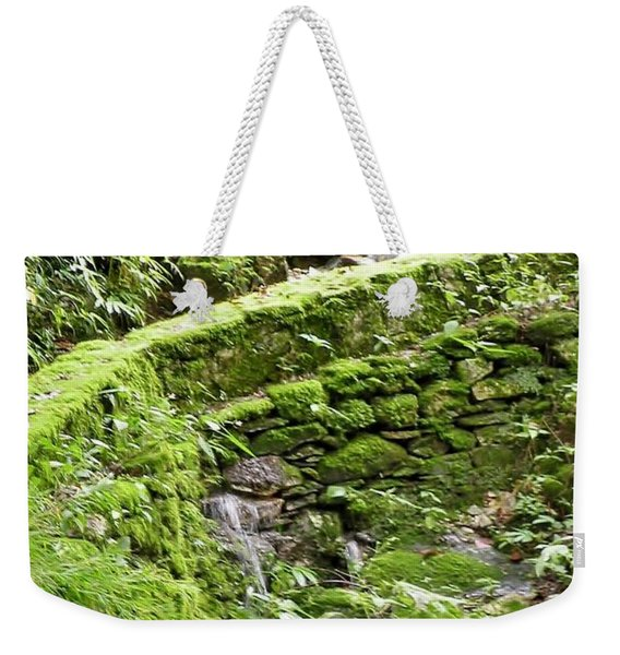 Weekender Tote Bag featuring the photograph Lovely Waterfall by Kim Bemis
