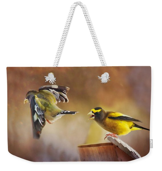Lovers Quarrel Weekender Tote Bag