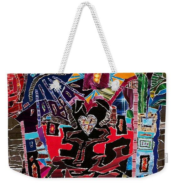 Loves Chalice  Weekender Tote Bag