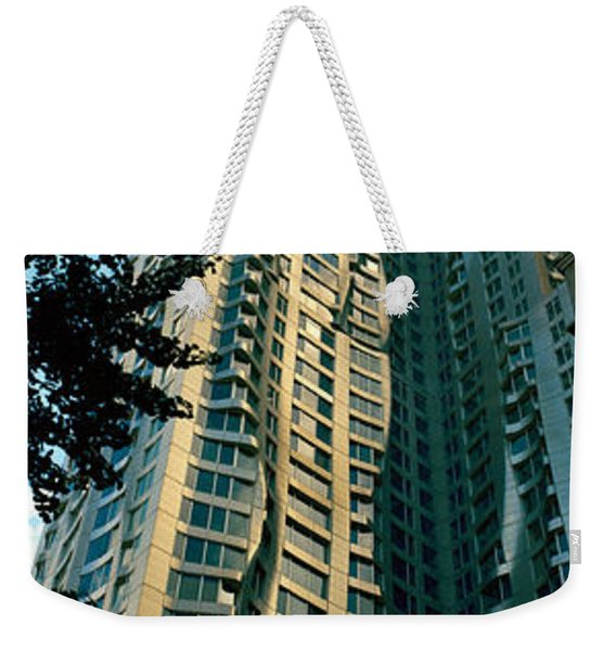Low Angle View Of An Apartment, Wall Weekender Tote Bag